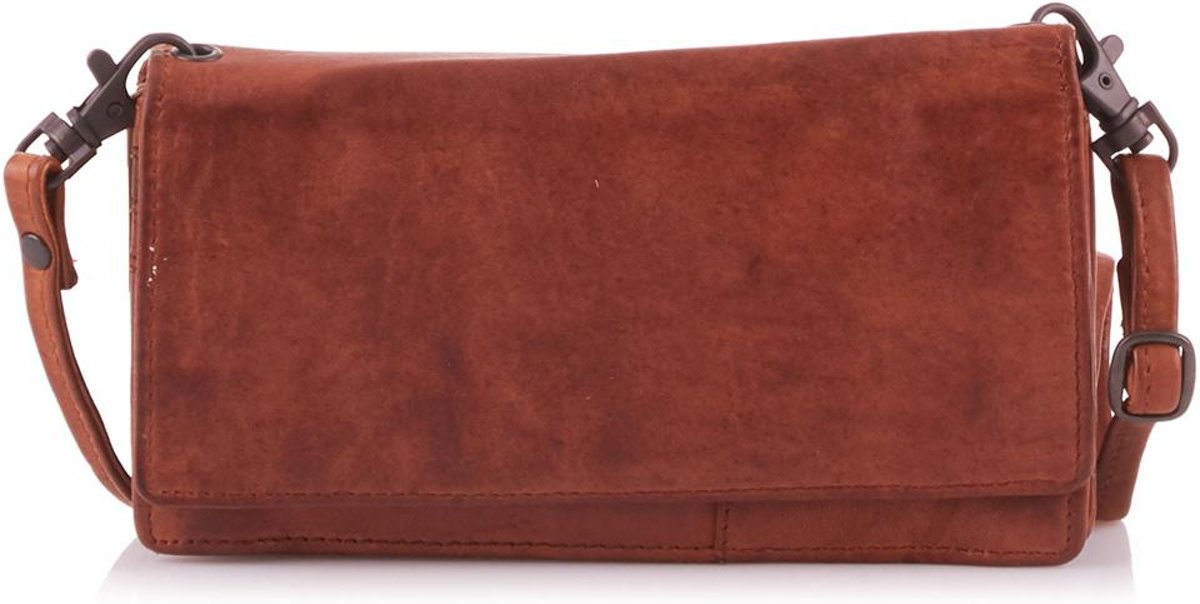 | Bear Design CL15753 Schoudertas cognac plain