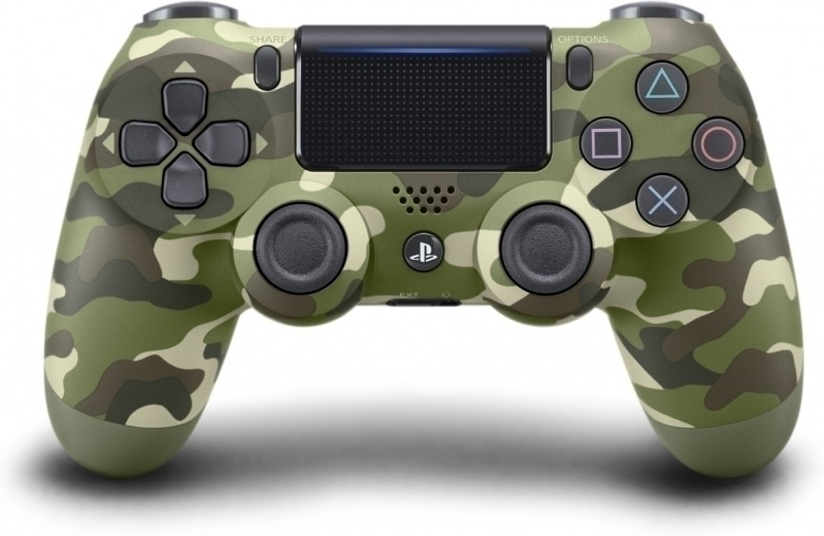 Sony Dual Shock 4 Controller V2 (Green Camouflage) kopen