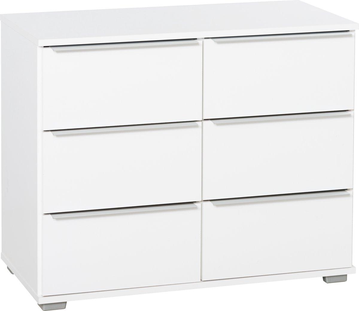 Voorraadkast wit voorraadkast met schuifdeuren van den for Ladenblok met slot