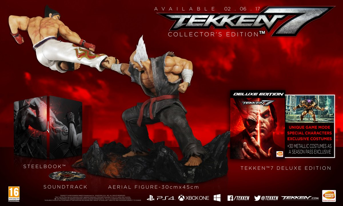 Tekken 7 - Collector's Edition PlayStation 4