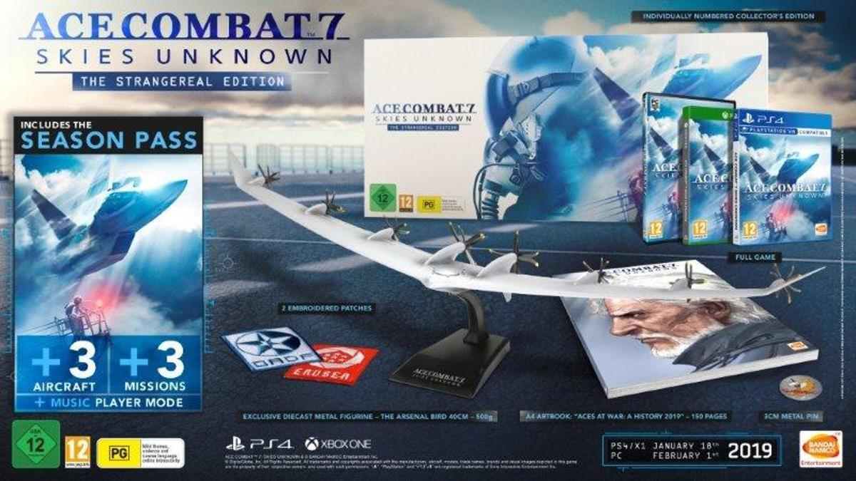Ace Combat 7: Skies Unknown - Collector's Edition PlayStation 4
