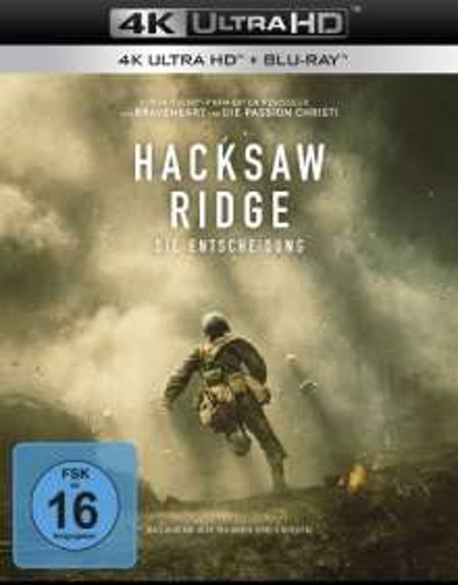 Hacksaw Ridge (Ultra HD Blu-ray & Blu-ray)-