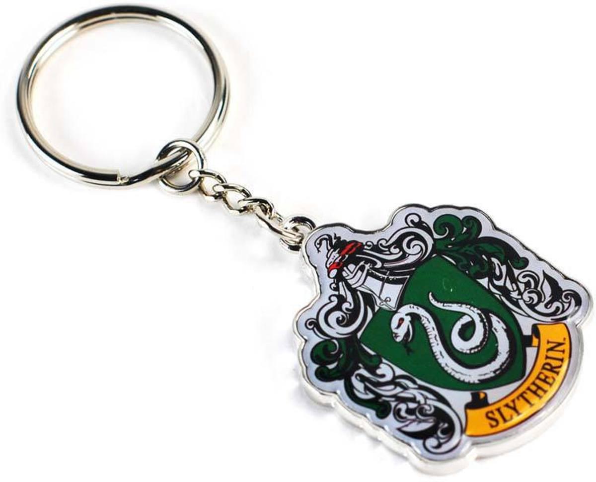 Harry Potter Slytherin Metal Keychain Sleutelhanger