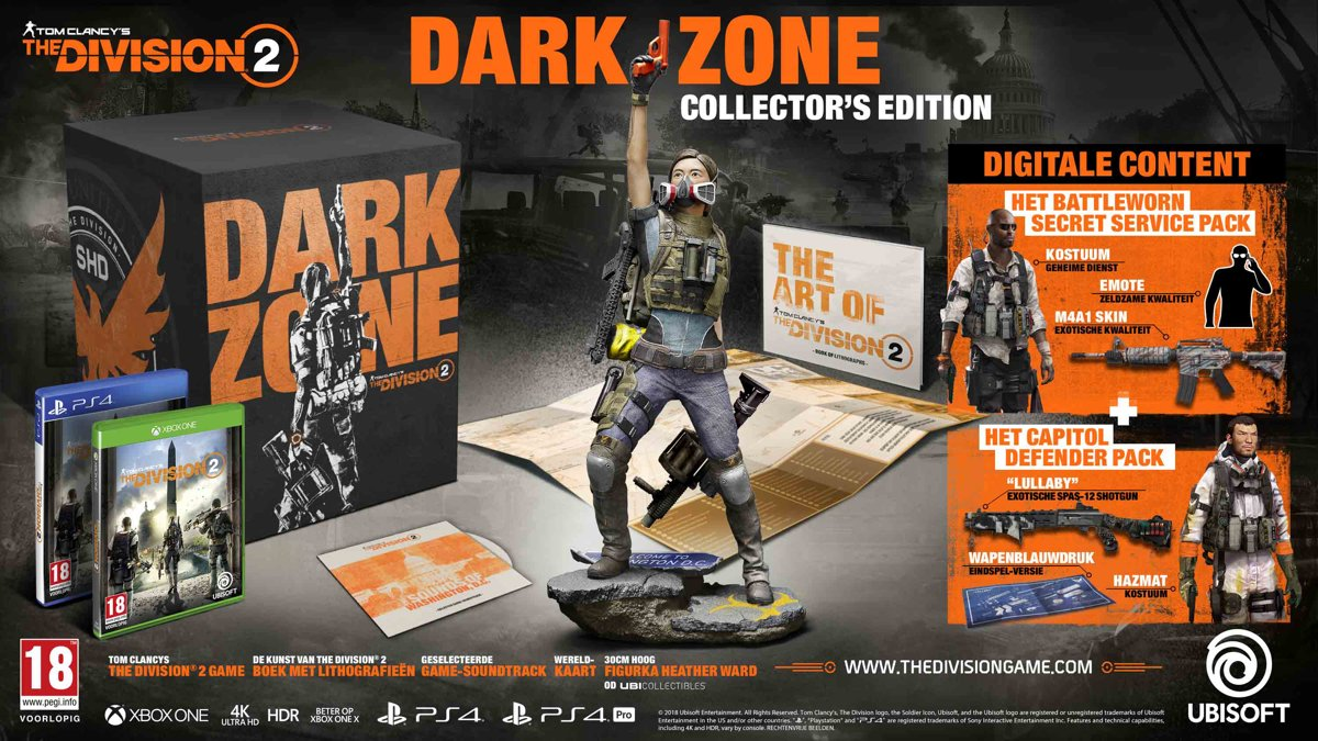 The Division 2 - Dark Zone Edition PlayStation 4