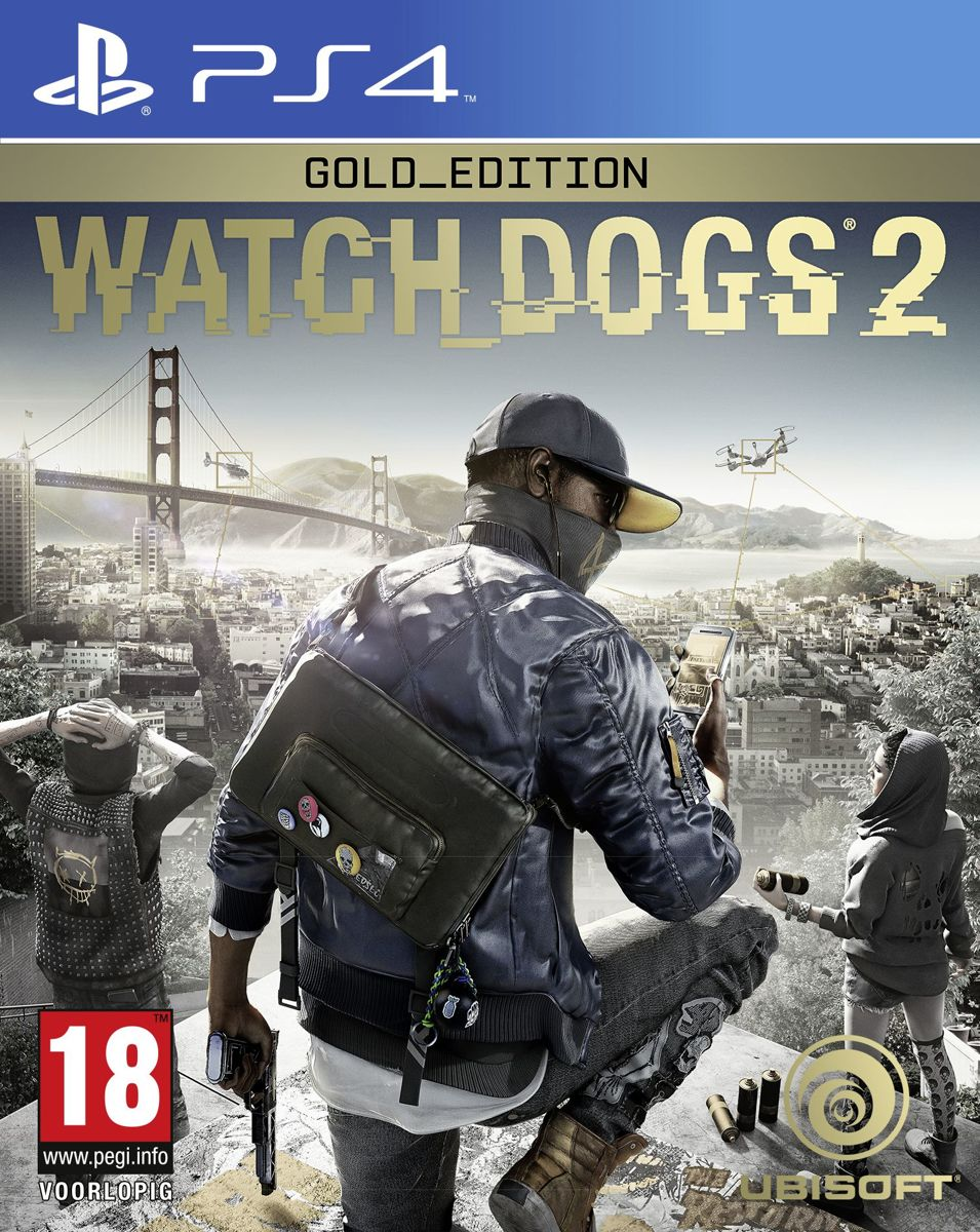 Watch Dogs 2 - Gold Edition PlayStation 4