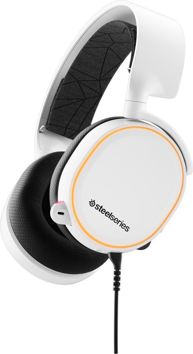 SteelSeries Arctis 5 RGB - 2019 Editie -  Gaming Headset - Wit - PS4 + PC kopen