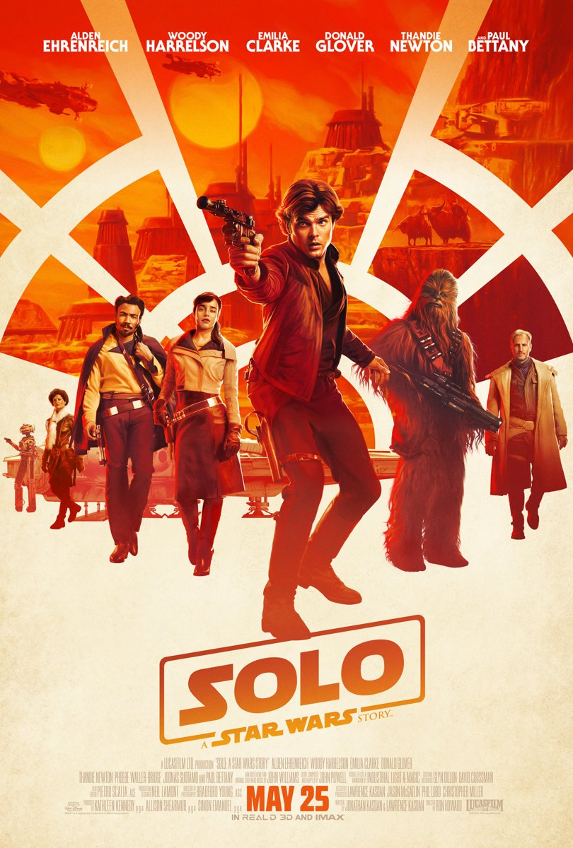Solo: A Star Wars Story (4K Ultra HD Blu-ray) (Import zonder NL)-
