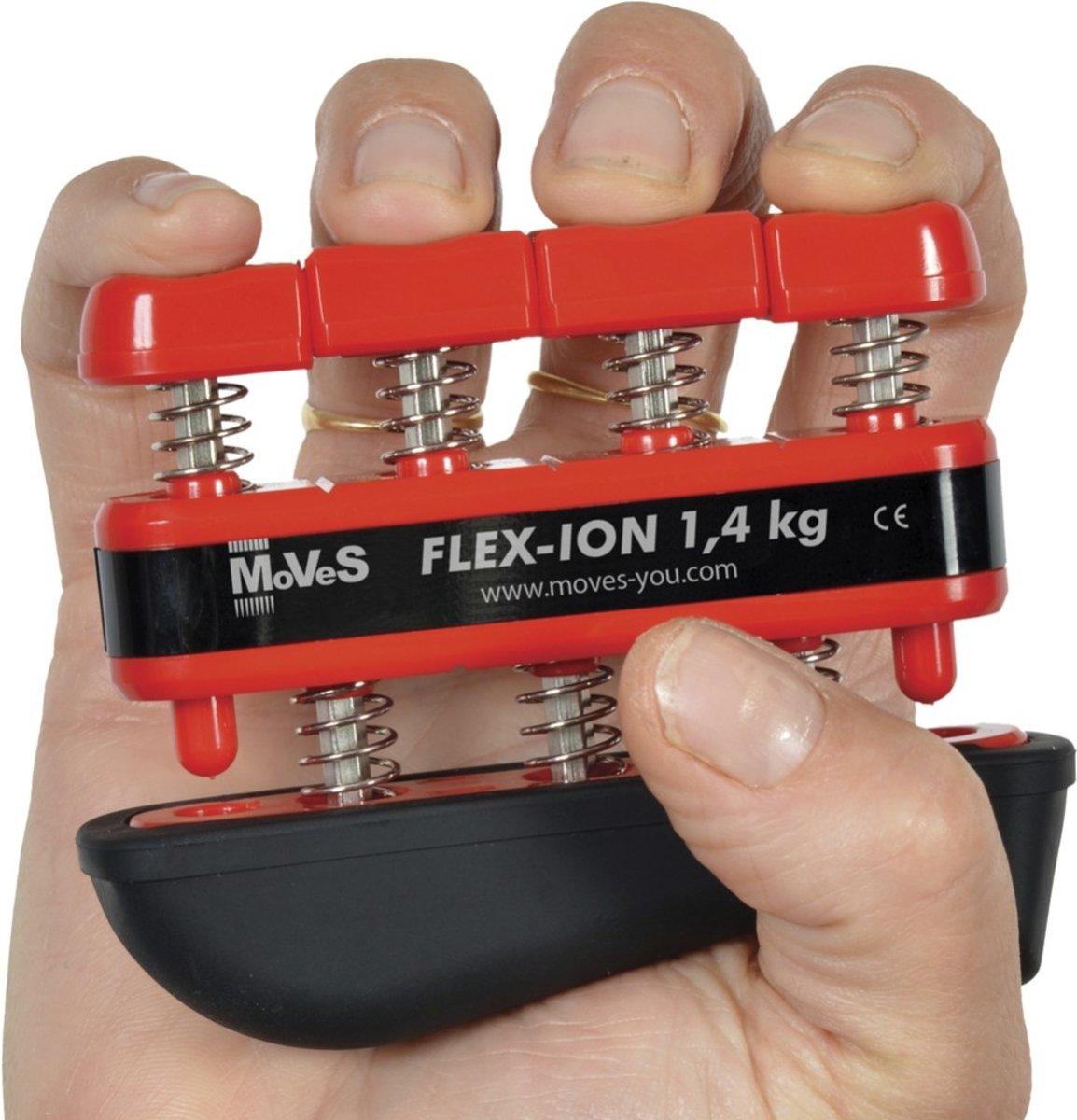 Vingertrainer Flex-ion rood 1,4 kg / 4,5 kg kopen