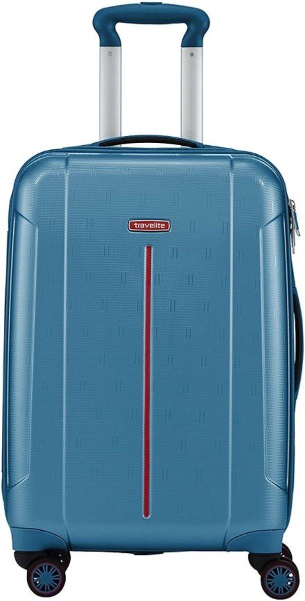 Travelite Echo koffer 55 cm aqua kopen