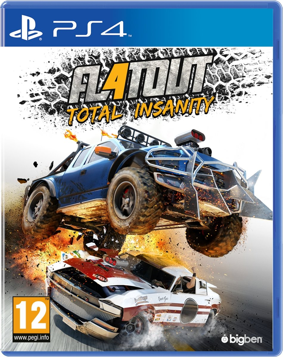 Flatout 4 Total Insanity PlayStation 4