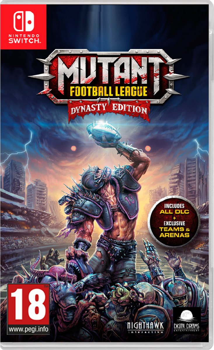 Mutant Football League - Dynasty Edition Switch