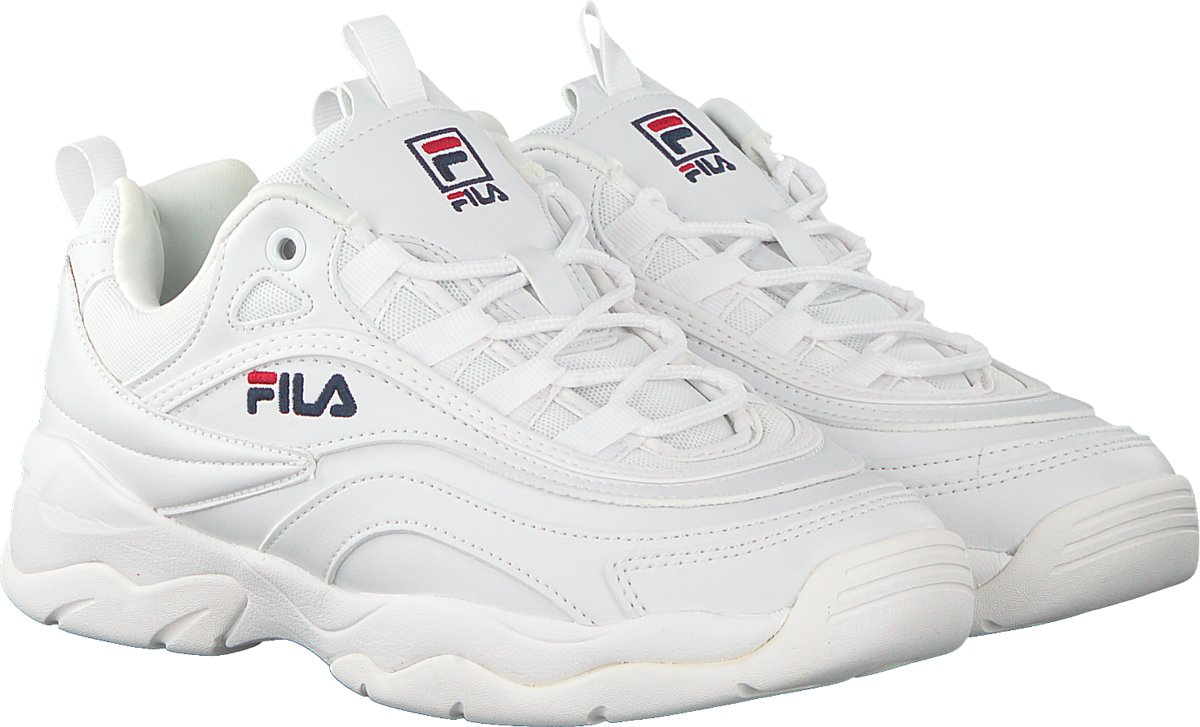 33e4facbeef bol.com | Fila Ray Low Sneakers Dames - White - Maat 40