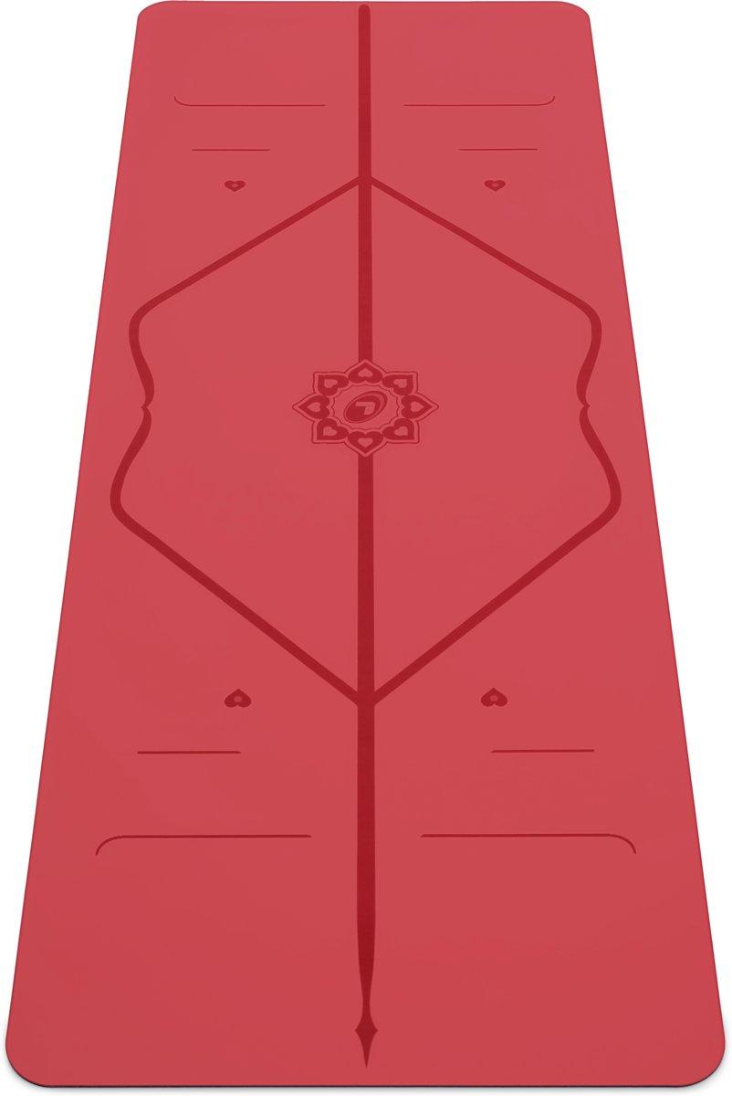 Liforme Love Yoga Mat - Rood (Incl. tas) - Limited Edition kopen