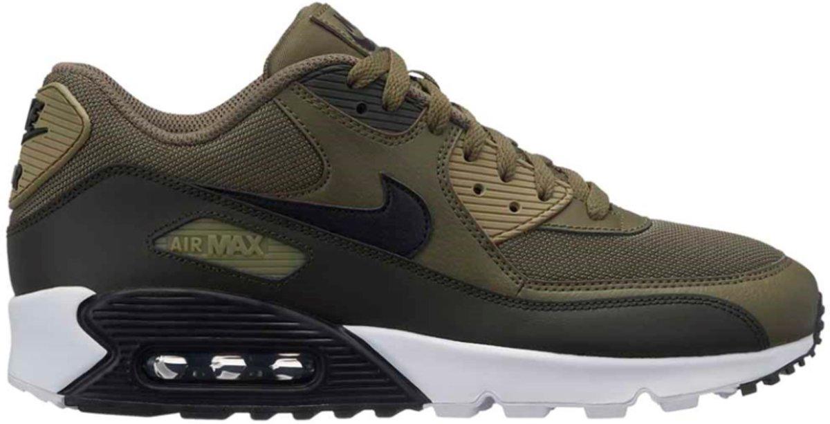 Nike Air Max 90 Essential Sneakers Maat 44.5 olijfgroenzwart AJ1285 201