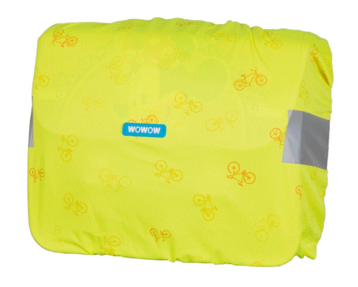 Hoes boekentas - Nuty cover Large yellow kopen