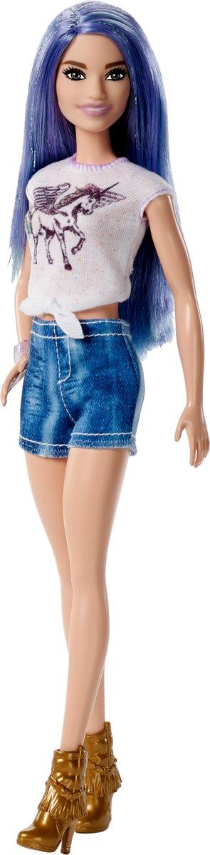 Barbie Fashionistas Met Metallic Laarsjes - Barbiepop