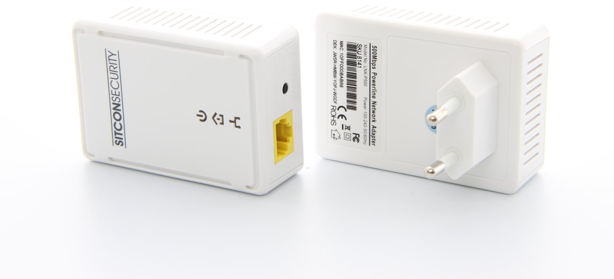 Sitcon | Powerline adapter set (2 stuks) 500Mbs