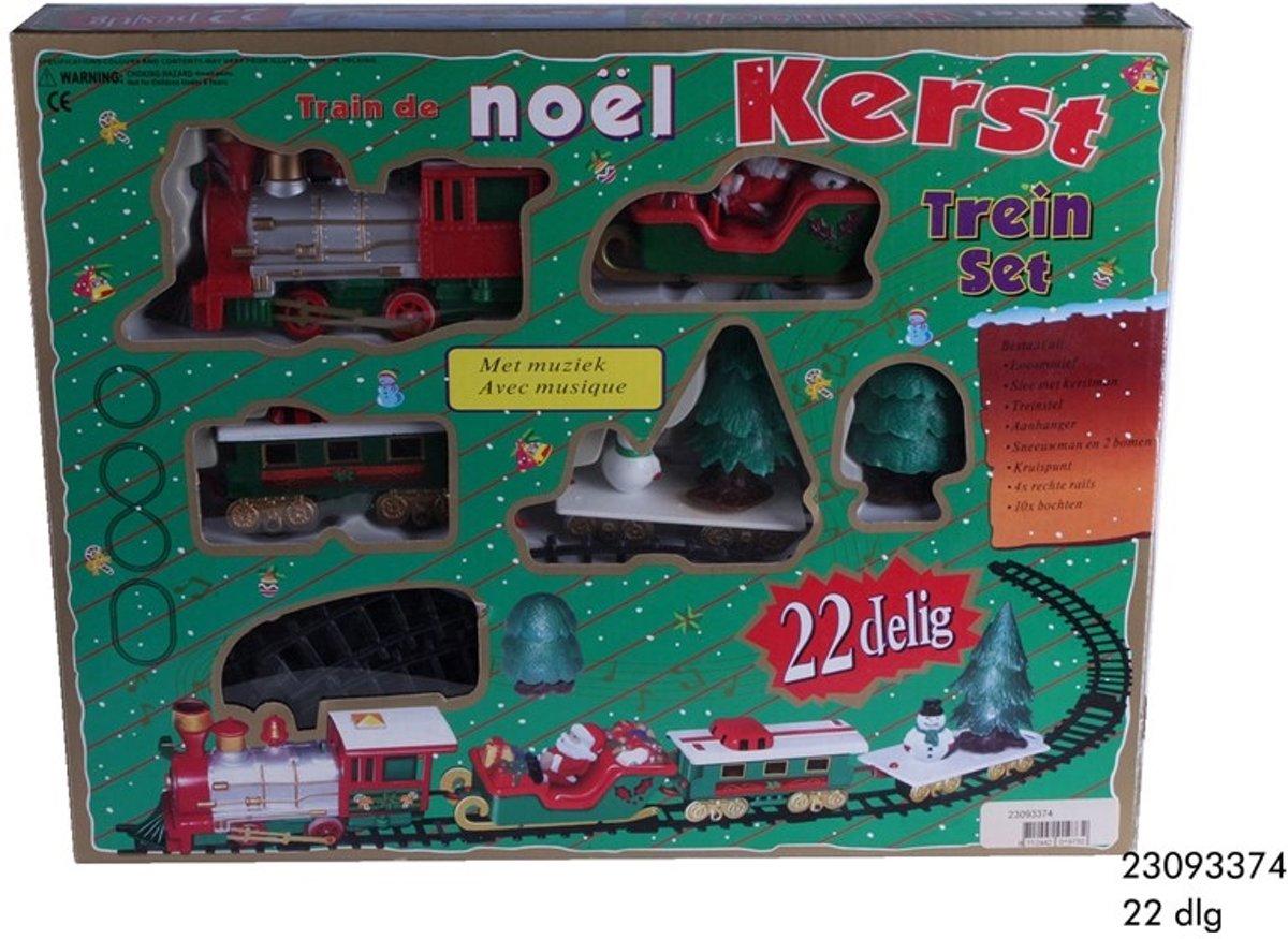 Leuke basis Kerst Treinset kopen