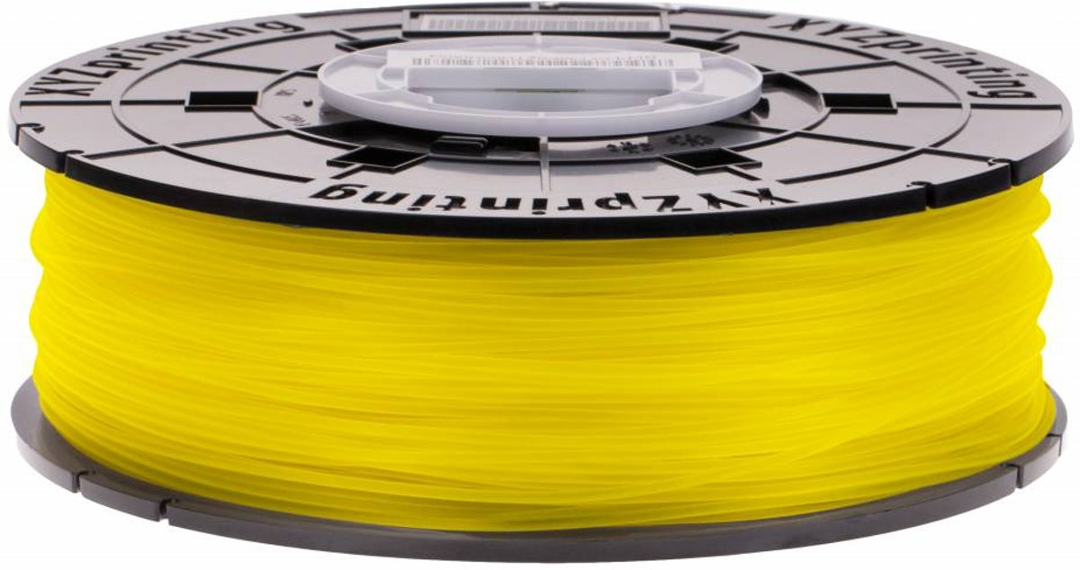 XYZprinting da Vinci Junior PLA Yellow 600 gram