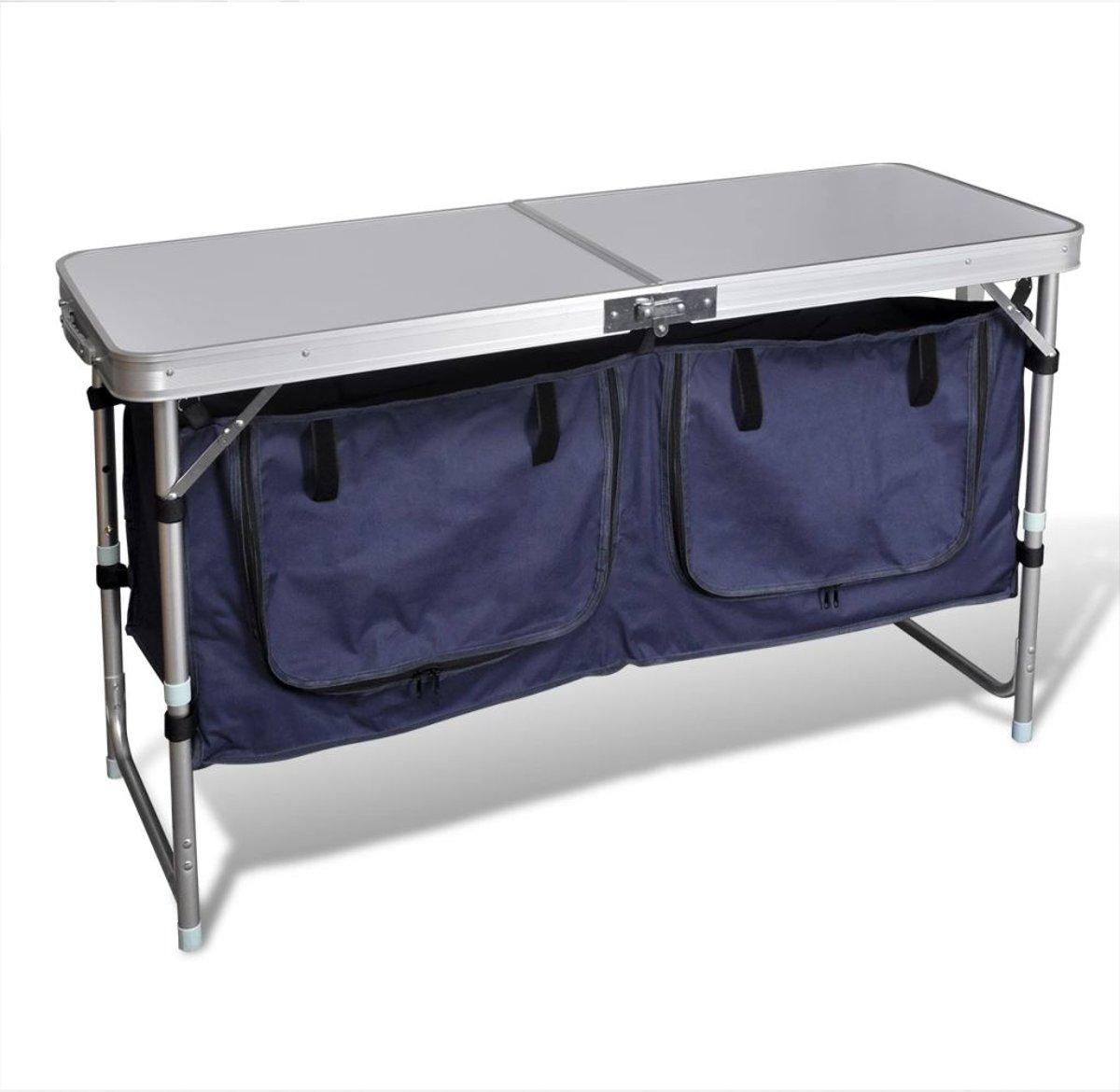 vidaXL Campingkastje met aluminium frame kopen