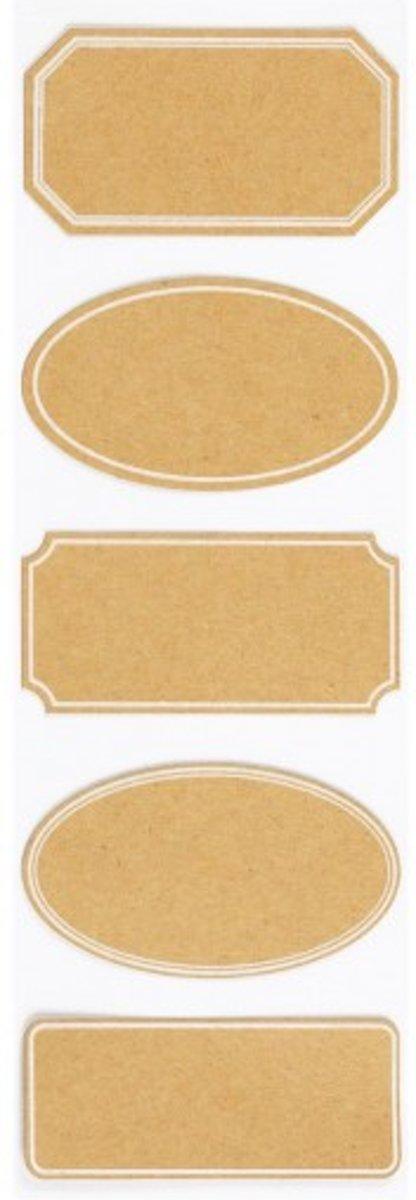 Afbeelding van product Martha Stewart labels classic kraft