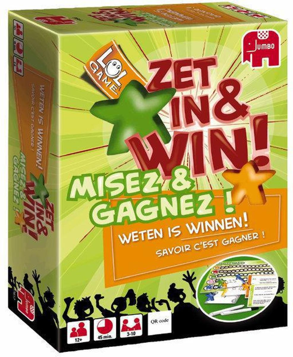 Jumbo spel - Zet in en Win