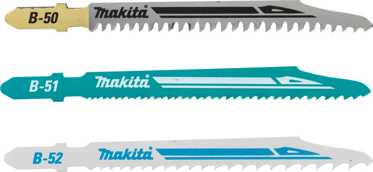Makita B-06292 Dec.blad HSS assorti B50/51/52