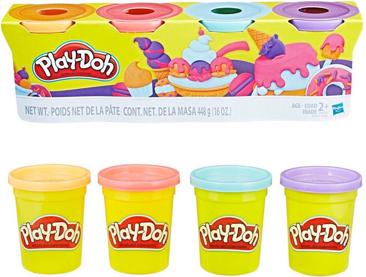 Play-Doh 4-Pack (Zoete Kleuren)
