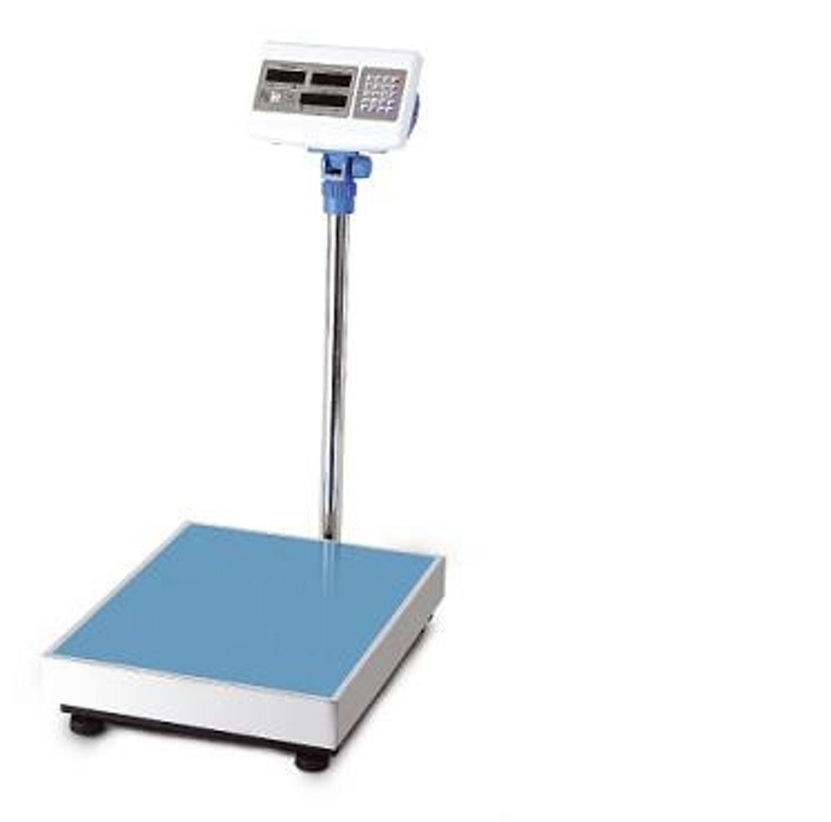 Platform Digitale industrie pakket weegschaal 1 tot 150Kg met kilo prijs berekening en 4Ah accu