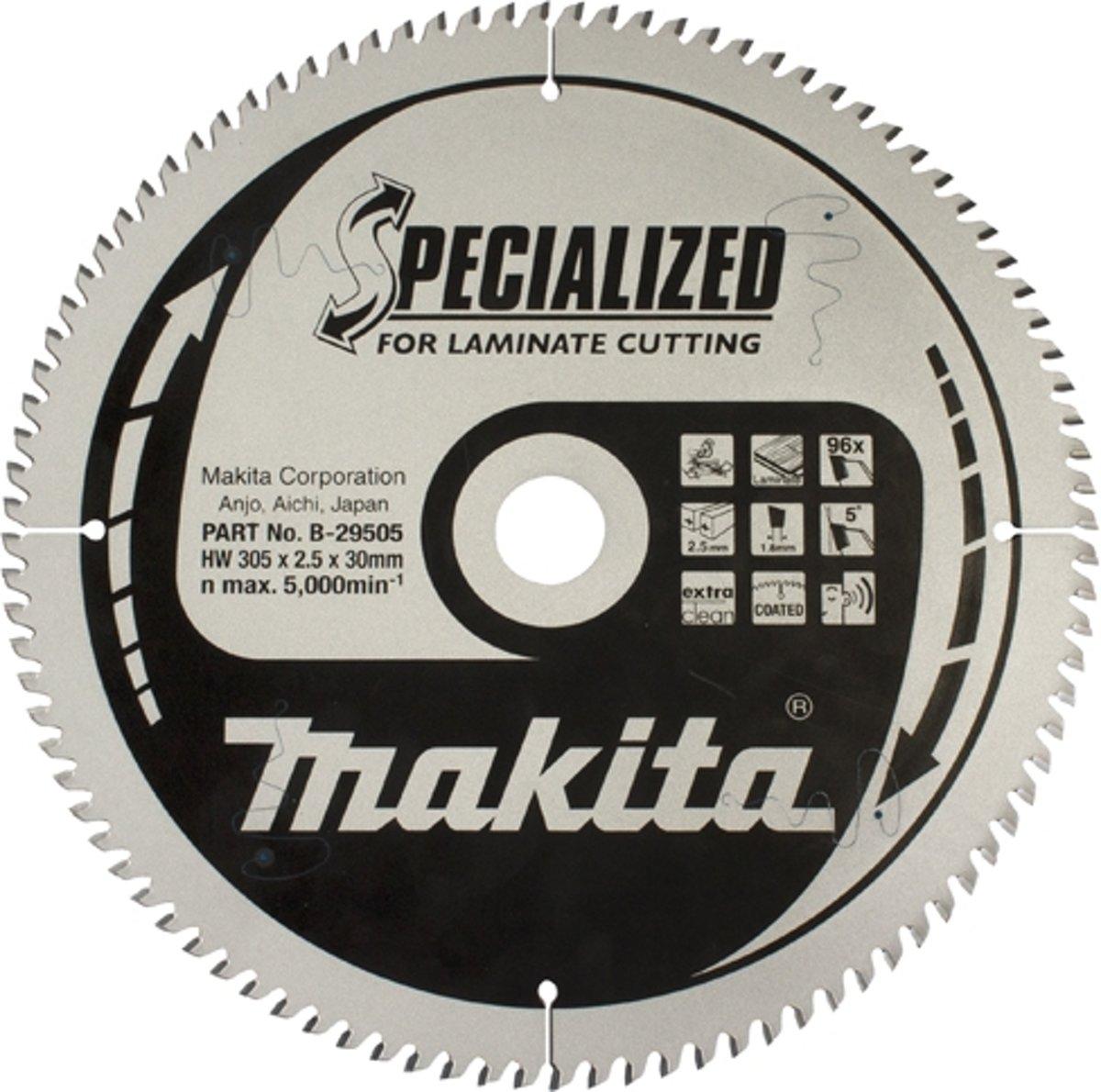Makita B-29452 Zaagb Lami 165x20x1,45 52T 5G