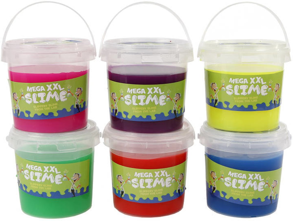 Afbeelding van product Mega XXL Slime Slippery slime from the lab Assorti