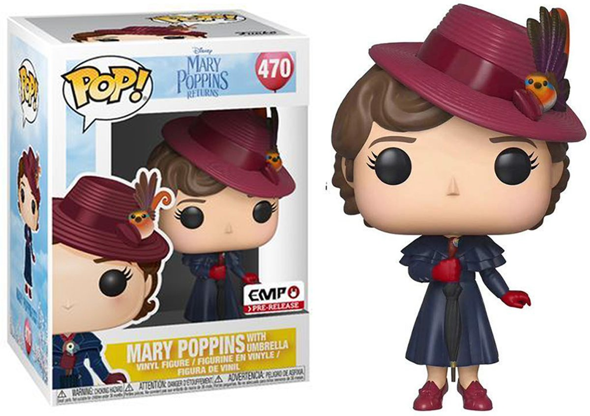Afbeelding van product Funko Pop - Mary Poppins with Umbrella