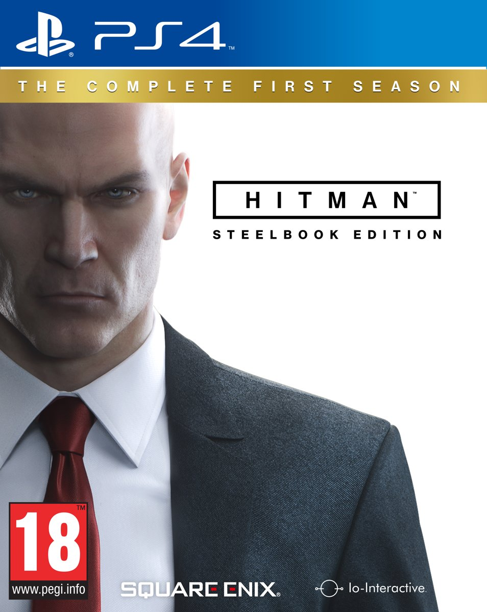 Hitman Complete 1st Season Steelbook Edition PlayStation 4