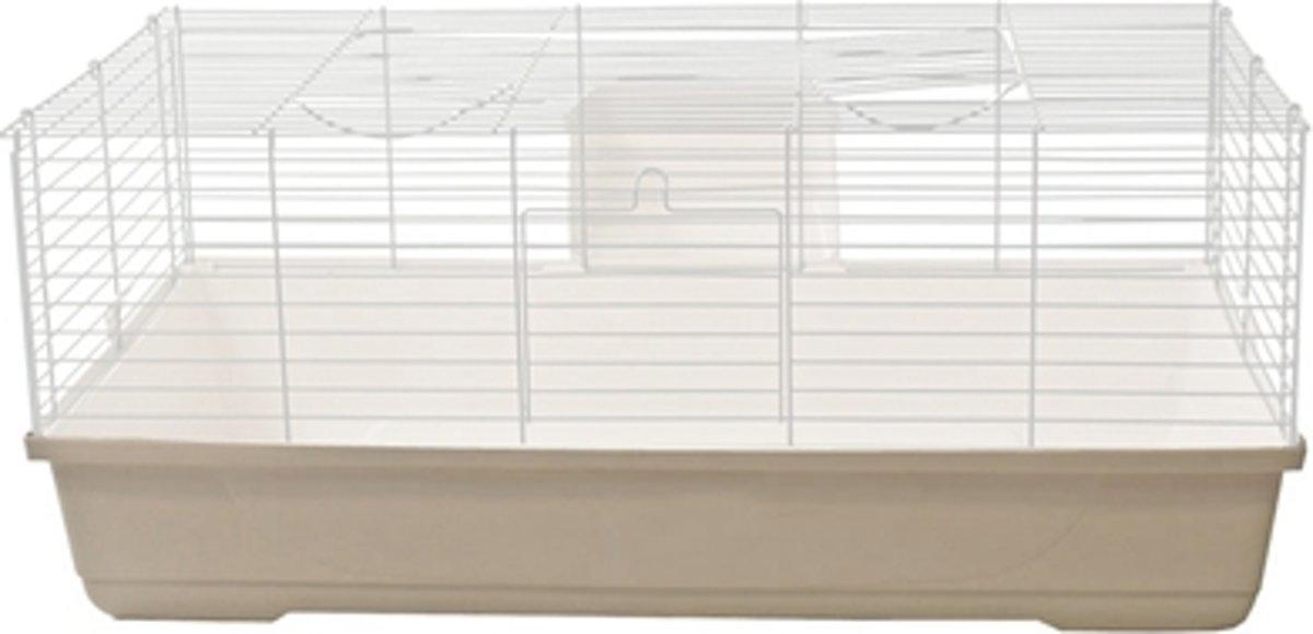Mps onderbak konijnenkooi baldo 100 beige 100 x 50 cm
