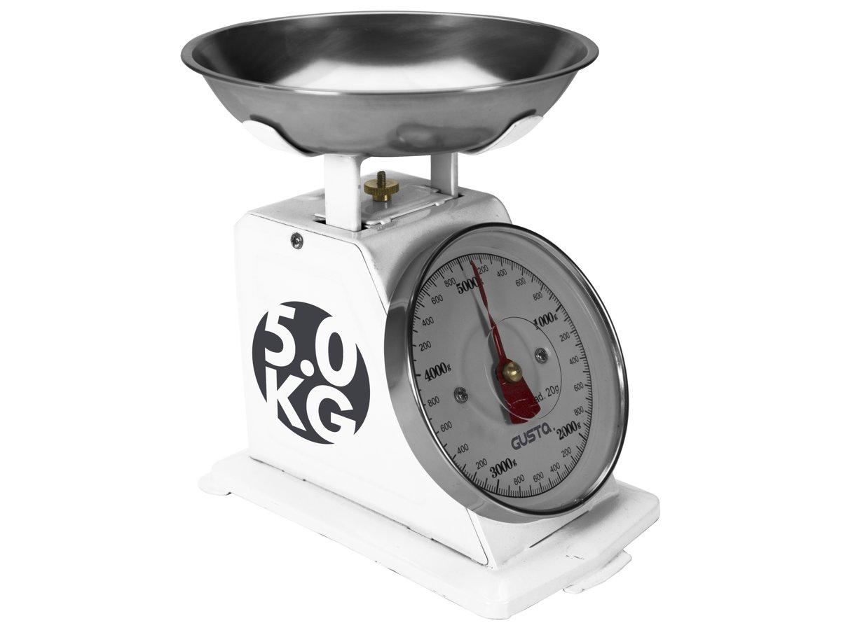 Gusta Keukenweegschaal - 5kg - Wit