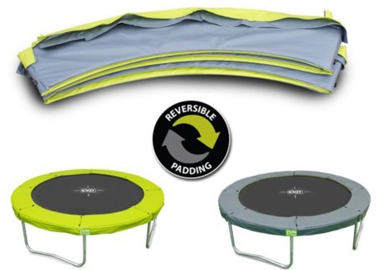 Afbeelding van product EXIT beschermrand Twist trampoline ø183cm - groen/grijs