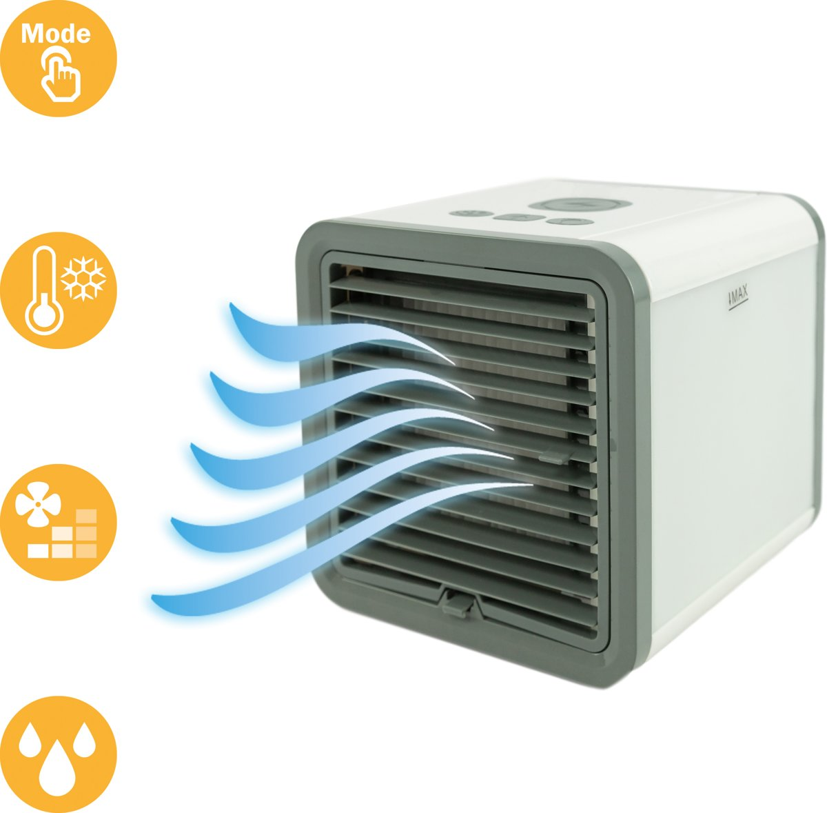 MaxxHome - Luchtkoeler/ventilator Air Cooler USB - 300ml kopen