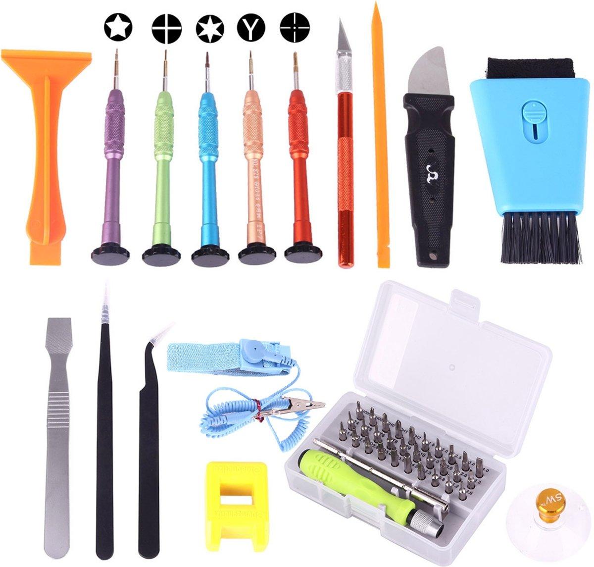 Professionele reparatie van SW-1060 48 in 1 Open Tool Kit met draagtas kopen