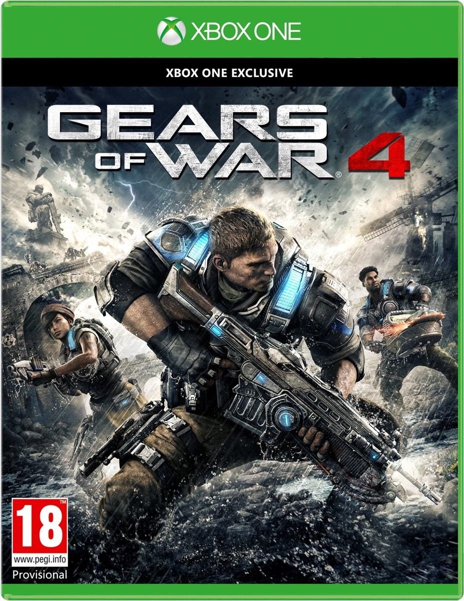 Gears of War 4 - Xbox One voor €12,77