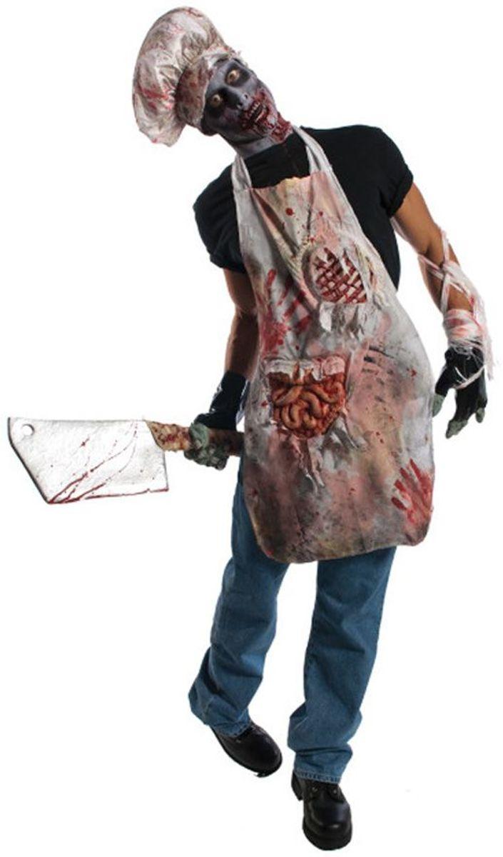 Zombie slagers schort kopen