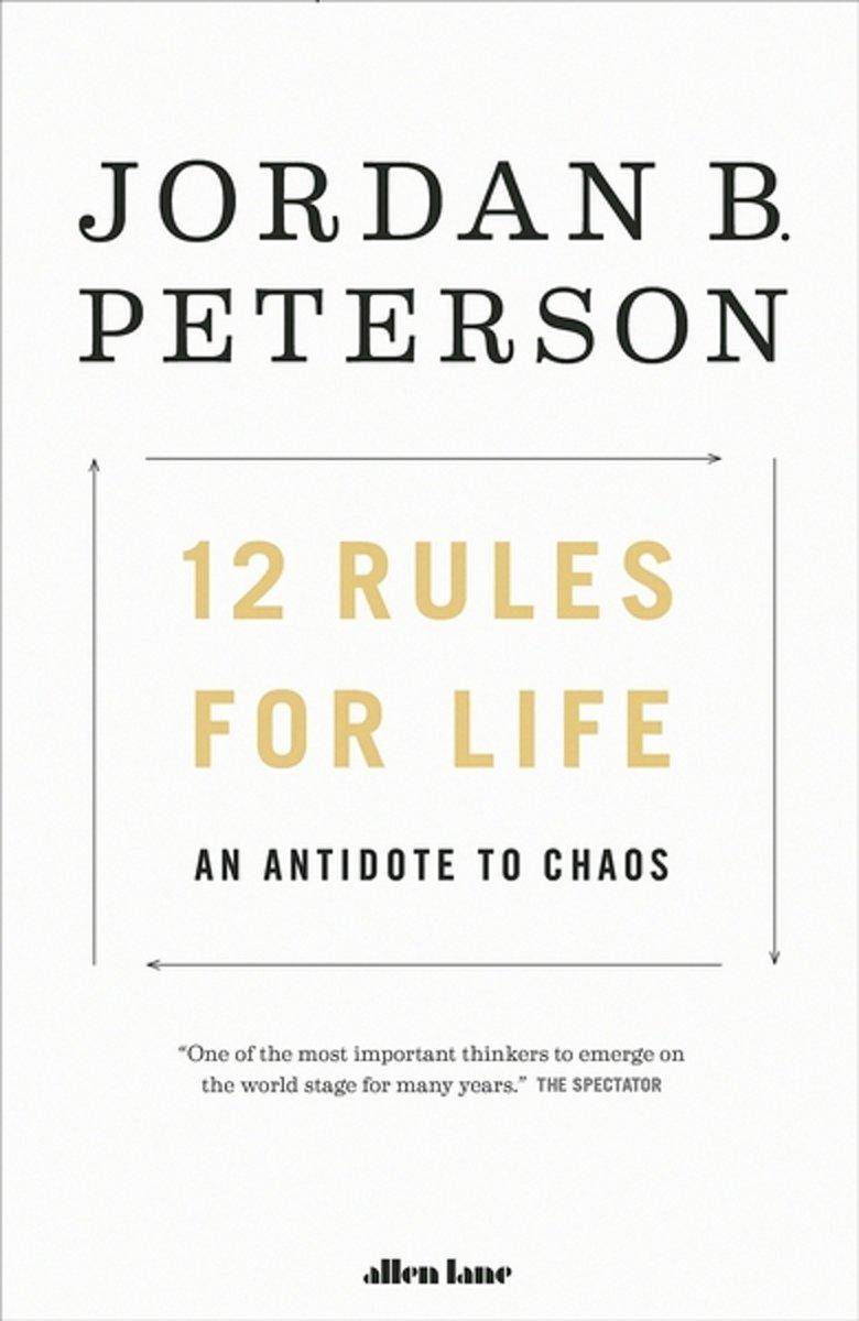 Bolcom 12 Rules For Life Jordan Peterson 9780241351642 Boeken