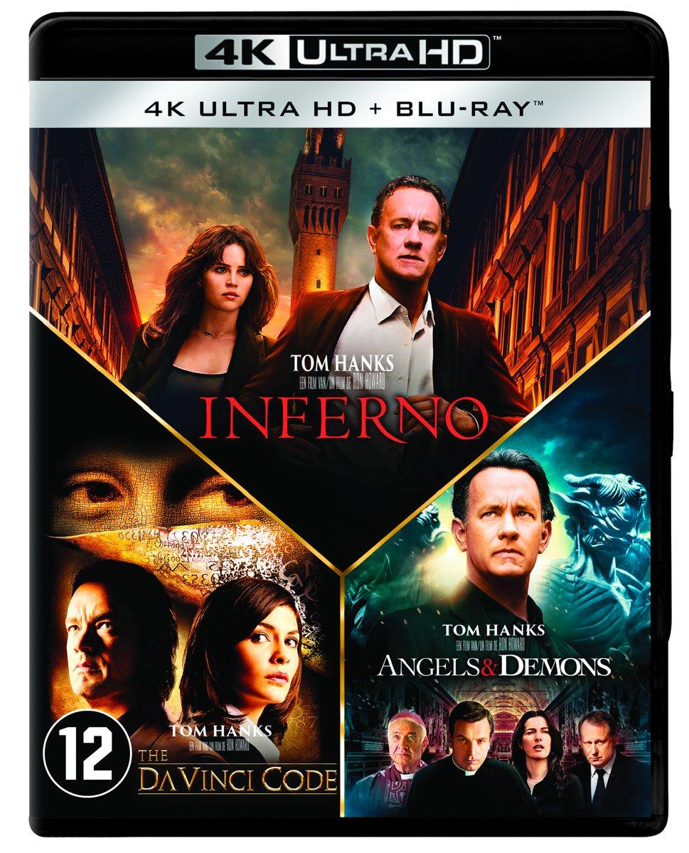 Inferno - Angels & Demons - The Da Vinci Code (4K UHD Blu-ray)-