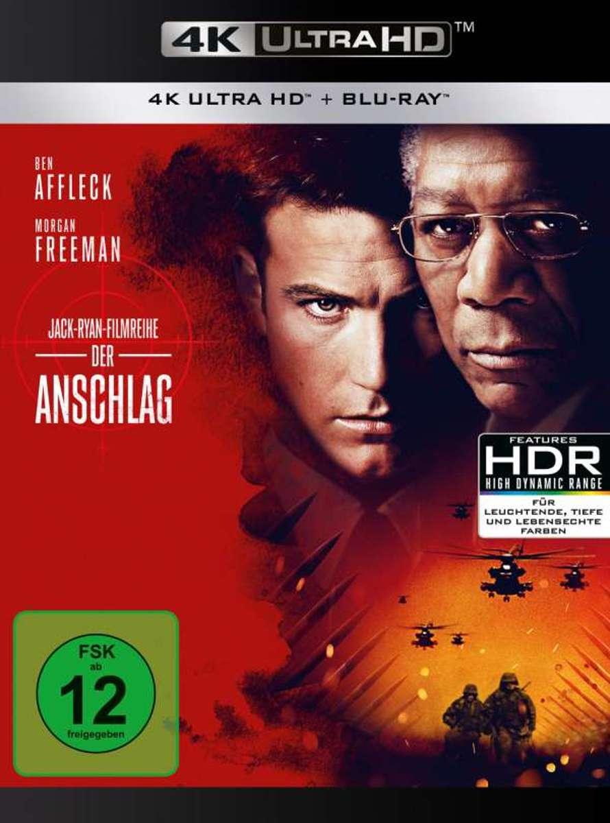 The Sum Of All Fears (2002) (Ultra HD Blu-ray & Blu-ray)-