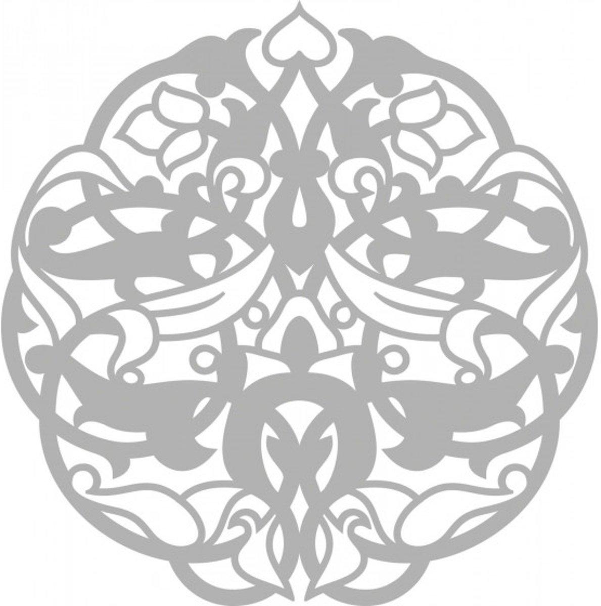 Afbeelding van product Mask stencil 15x15cm keltic