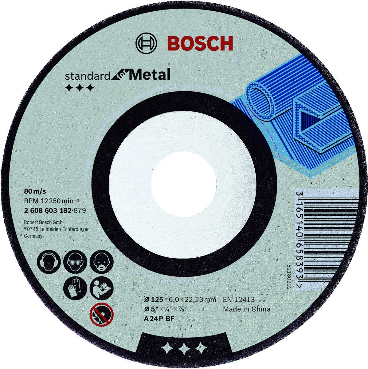Afbraamschijf gebogen Standard for Metal A 24 P BF, 230 mm, 22,23 mm, 6,0 mm 1st kopen