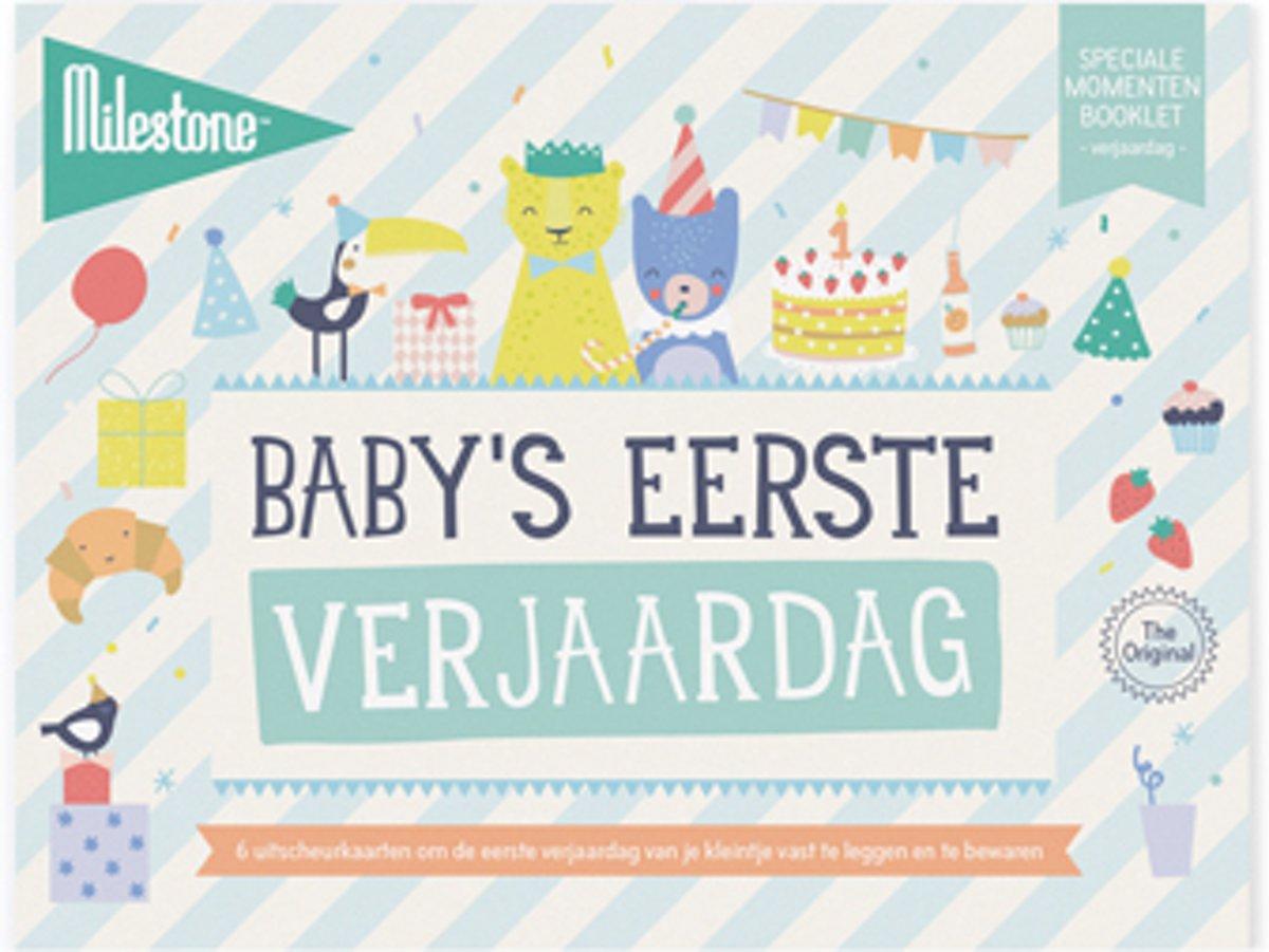 Milestone® Special Moments Booklet - Baby's eerste verjaardag