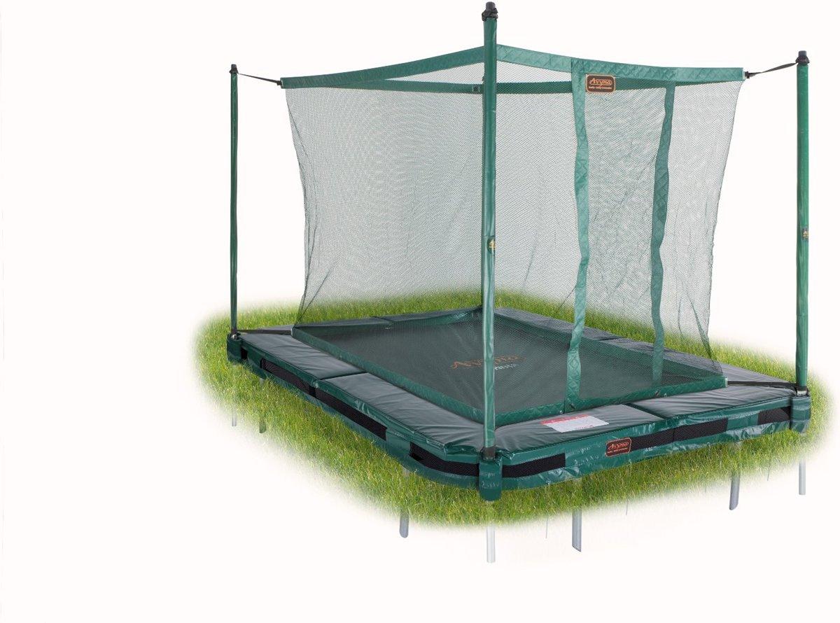 Avyna InGround trampoline PRO-LINE 275x190 (213) Groen + Avyna Veiligheidsnet