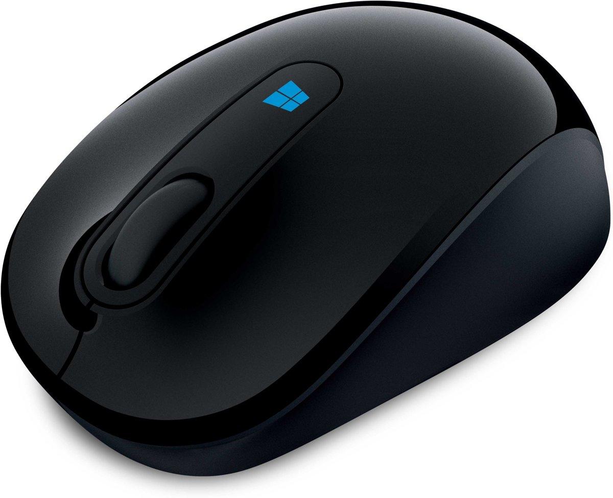 Microsoft Sculpt Mobile Mouse - Draadloze Muis - Zwart