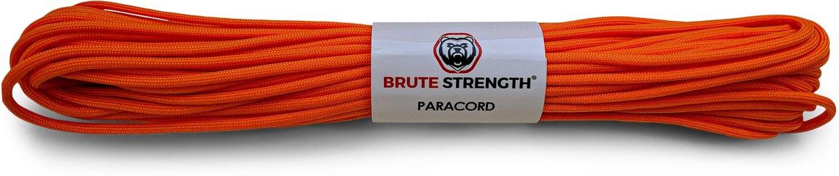 Paracord - Touw - 4 mm - 30 meter - Oranje - Vismagneet touw - Magneetvissen touw - 250 kg breekracht