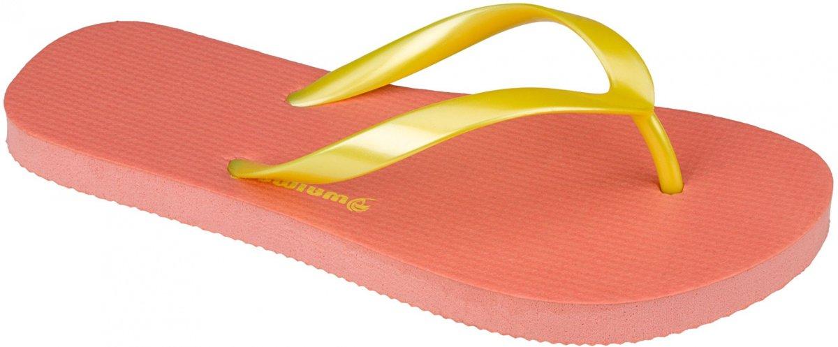 Waimea Teenslippers Mambo Beach Meisjes Roze/geel Maat 34 kopen